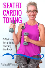 Chair Cardio Exercises Seated Cardio Toning Hiit 35 Minute High Intensity Body Shaping