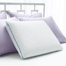 cool bed pillows forever cool gel memory foam pillow sleep innovations