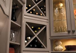 Kitchen Cabinet Wine Rack Ideas Extraordinary Idea Kitchen Cabinet Wine Rack Cabinet Design