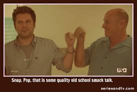 Old Language Meme - shawn henry fist bump meme quote psych series tv