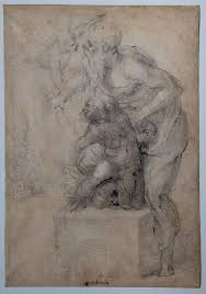 rome displays secret michelangelo drawing wanted in rome