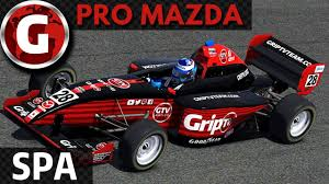 pro mazda pro mazda spa youtube
