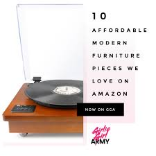 Knock Off Modern Furniture by 10 Affordable Modern Furniture Pieces We Love On Amazon