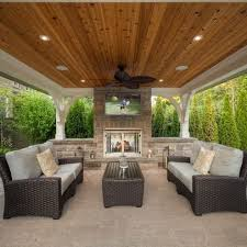 Covered Backyard Patio Ideas Best 25 Outdoor Covered Patios Ideas On Pinterest Pertaining To