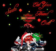 santa eat your out m m harley davidson graphics