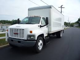 gmc box van trucks for sale