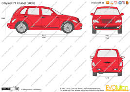 the blueprints com vector drawing chrysler pt cruiser