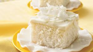 coconut cake with white chocolate frosting recipe bettycrocker com