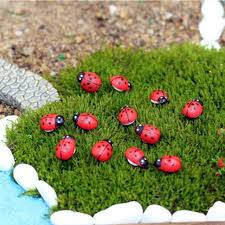 50pcs lot home deco wood crafts garden ornaments wood beetle