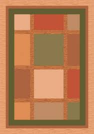 Orange And Brown Area Rugs Pastiche Stainmaster Orange Area Rug Orange Rugs Pinterest