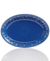 serving plate snowflake collection created for macy s dinnerware