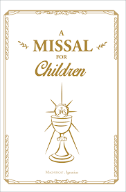 a missal for children leather cover dom guy mesnard o s b