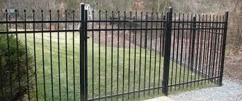 ornamental metal fence home gardens