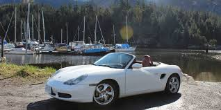 driving a porsche boxster rolling the dice on a spotless porsche boxster is a come
