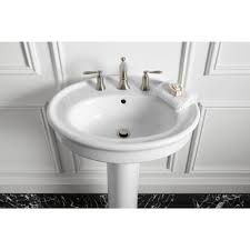Bathroom Pedestal Sink Ideas Bathroom Kohler Sink For Inspiring Elegant Bathroom Vanity Sink