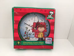 peanuts carol clock 2010 plays 1 of 12 carols on the