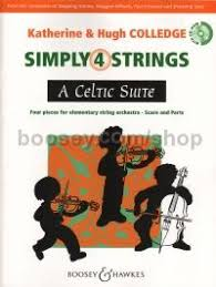 colledge katherine hugh simply 4 strings a celtic suite