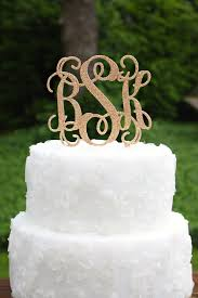 monogram cake toppers you could win a glitter monogram cake topper