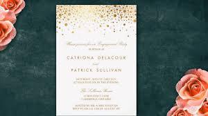Betrothal Invitation Cards Engagement Invitations Youtube