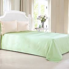 combed cotton 300 thread count mixed color beige light green duvet