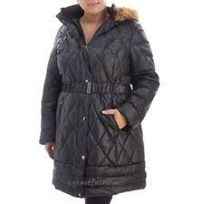 laundry by design hooded jacket fur coats jackets hood puffer for women ebay