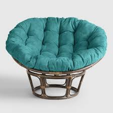 Patio Furniture Cushion Covers - furniture papasan chair cushion cheap in green for home furniture
