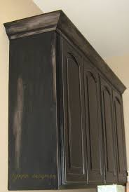 black glazed kitchen cabinets 25 best black distressed cabinets ideas on pinterest distressed