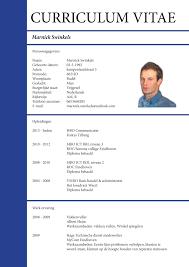 vitae resume resume for your job application
