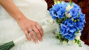 blue wedding bouquets 6 tips about blue flowers wedding flowers