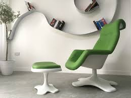 Chair Armchair Design Space Age Mid Century Fibreglass Swivel Chair Armchair With
