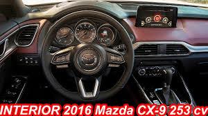 mazda cx9 interior interior mazda cx 9 2016 2 5 skyactiv g turbo 253 cv 42 8 mkgf
