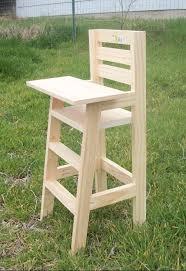 Rocking Horse High Chair Cutest Baby Doll High Chair Do It Yourself Home Projects From
