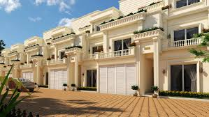 Row Houses Elevation - row houses in sarjapur road saiven developers