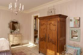 French Country Girls Bedroom Wardrobe Armoire In Bedroom Traditional With French Country