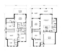 uncategorized modern 2 story house plans cool two story house