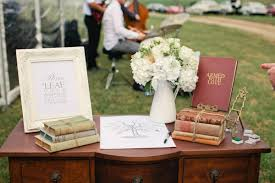 vintage guest book guestbook table with photos of these books dress up your