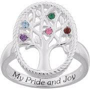mothers day rings rings with birthstones