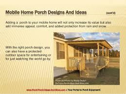 porch plans for mobile homes porch design ideas for mobile homes
