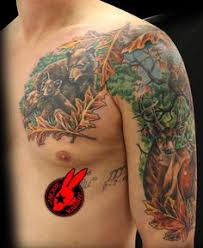 hunting half sleeve tattoos pinterest tattoo