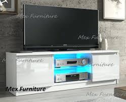 modern white tv stand s l640 unit cabinet matt and high gloss