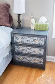 enchanting dresser as nightstand lovely home decor ideas with how