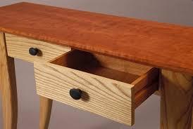 Hallway Table With Drawers Custom Hall Table Modern Design Handmade Furniture By David