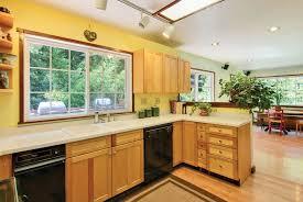 craftsman kitchen with limestone u0026 european cabinets in santa cruz