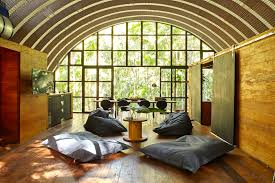Small Eco Houses Arca Is A Gorgeous Arched Retreat In The Brazilian Rainforest