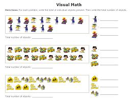 visual math worksheets maker sample counting u0026 tallies