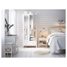 Ikea Skorva Assembly by Tyssedal Bed Frame White Lönset Standard King Ikea