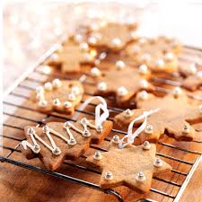 christmas gingerbread hanging biscuits baking mad