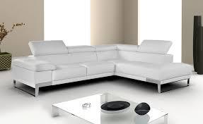 Nicoletti Premium Leather Sectional Buy From NOVA Interiors - Modern furniture boston