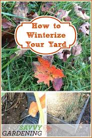 gardening checklist how to winterize your yard