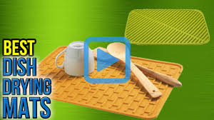 top 10 dish drying mats of 2017 video review